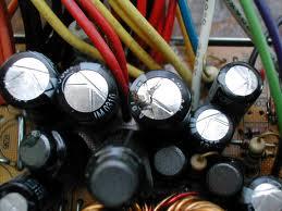 Awaria komputera ? kondensatory na płycie głównej